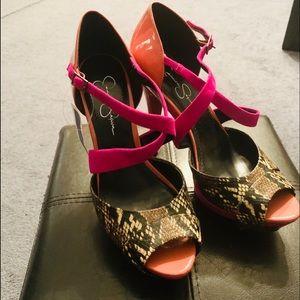 Size 10 Jessica Simpson Platform Heels✅
